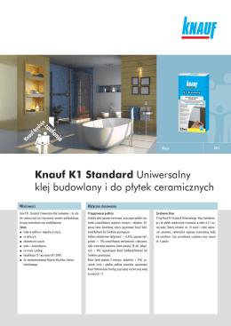 Knauf K1 Standard Uniwersalny klej budowlany i do płytek