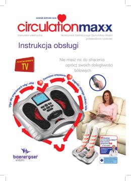 Instrukcja obsługi Circulation Maxx