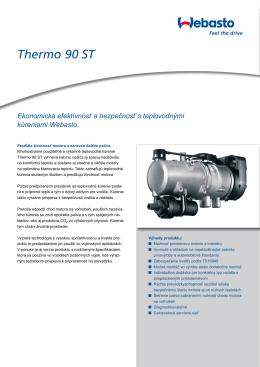 Katalógový list produktu Thermo 90 ST (PDF, 738 kB)