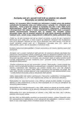 PDF, 82 KB - Poradňa pre občianske a ľudské práva