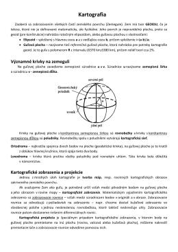 Kartografia - Úvod, Azimutálna ortografická projekcia
