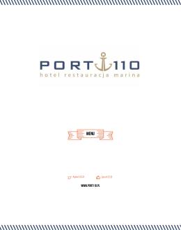 Page 1 www.port110.pl #port110 /port110 Page 2 7 zł 8 zł 10 zł