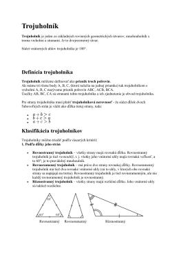 trojuholnikkvinta