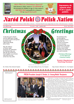 Naród Polski Polish Nation Christmas Greetings