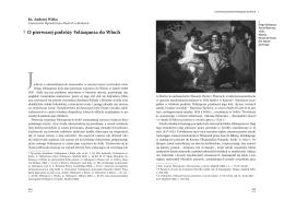 ¶ O pierwszej podróży Velázqueza do Włoch