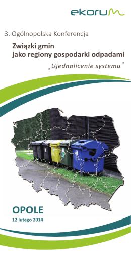 Zaproszenie Związki gmin jako regiony gospodarki