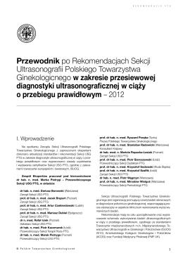 Wytyczne dla lekarzy i farmaceutów w sprawie programu