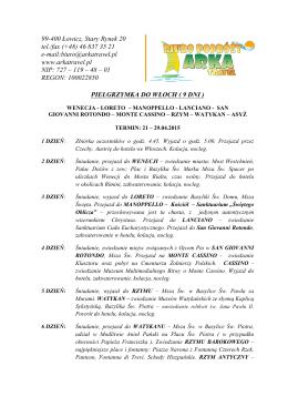 Informacja ERKADO - nowy katalog IV 2014