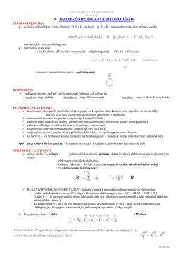 3.1 halogénderiváty