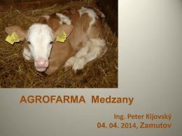 Agrofarma Medzany