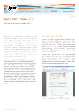 PTC Mathcad Prime 2.0