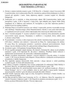 Regulamin Konferencji