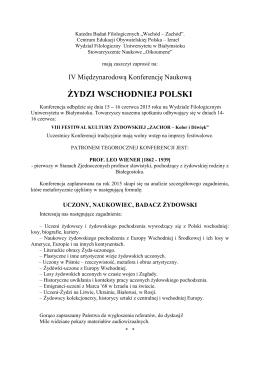 Kazimierz ŻEGNAŁEK Uniwersytet Przyrodniczo