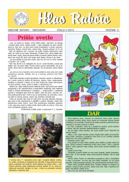 Obecné noviny 4/2013