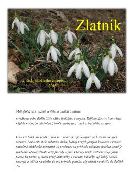 2. číslo školského časopisu 2013/