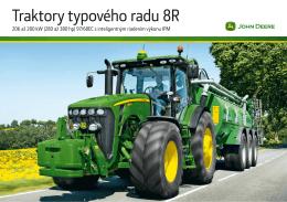 Traktory typového radu 8R
