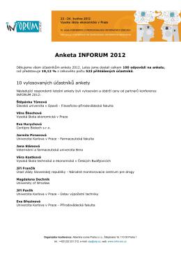 Výsledky - Inforum