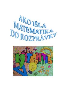 Ako išla matematika do rozprávky