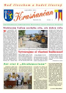 Krasňančan 3/2011 - Mestská časť Košice Krásna
