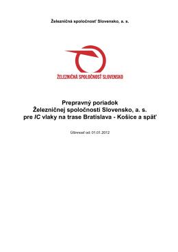 PP ZSSK IC - STREKA.net