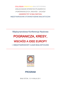 program - Opolskie Lamy