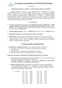 Gymnázium, Konštantínova 1751/64, 091 80 Stropkov