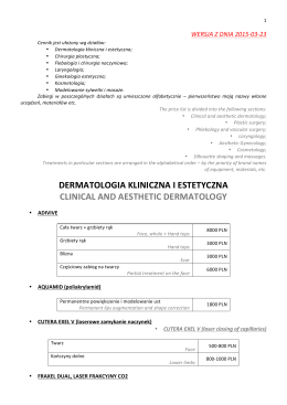 Analiza efektywności i skuteczności organizacji szkoleń 2013 W