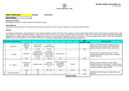 DMZ_II_Obstrukcie - Slovenský Červený Kríž, Územný spolok