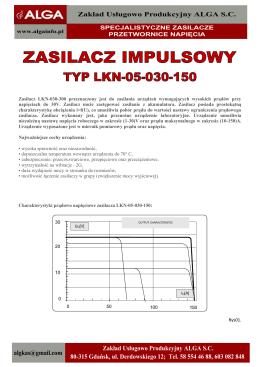 BIALL Sp. z oo GP-12-300C Przetwornica/ładowarka akumulatorów