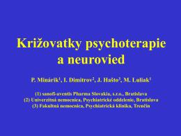 Križovatky psychoterapie a neurovied