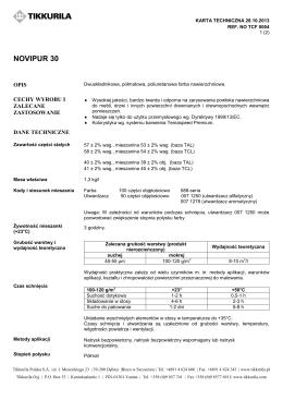 epinox 87 - TEKNOS Farby Antykorozyjne