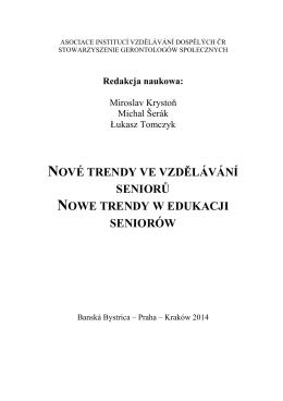 nová sociálna edukácia človeka iii