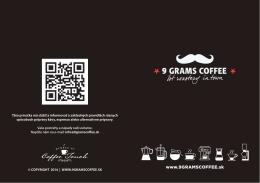 www.9GRAMSCOFFEE.sk