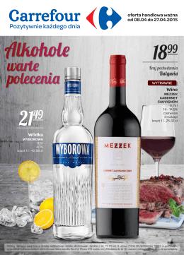 Wino - Carrefour