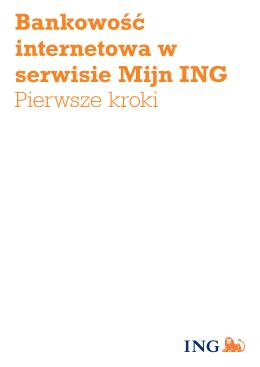 Bankowość internetowa w serwisie Mijn ING