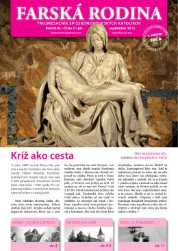 FR 2013/03 - Farnosť Spišská Nová Ves