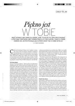 Materiał w formacie PDF - Medycyna estetyczna warszawa