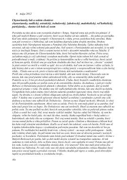 8. mája 2012 Chynoriansky luh a sedem chotárov chynoriansky