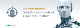 Ochráňte svoj notebook s ESET Anti