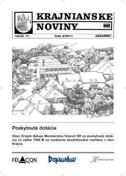 Krajnianske noviny číslo 2 (PDF – 1,6 MB)
