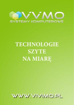 TECHNOLOGIE SZYTE NA MIARĘ