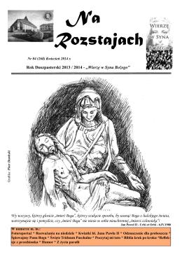 Kwiecień 2014 - Parafia Opatrzności Bożej w Gdańsku