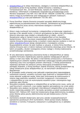 1. sklepdomfloor.pl to sklep internetowy, dostępny w domenie