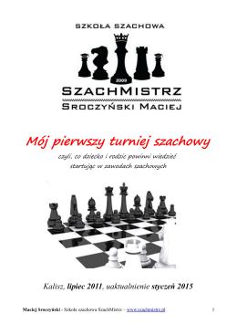 Mój pierwszy turniej szachowy