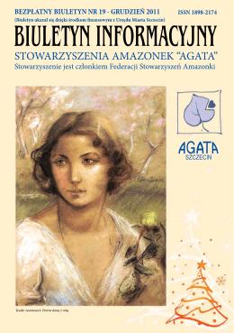 """plik1 - Stowarzyszenie Amazonek """"AGATA"""""""