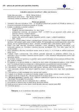 JZS - Liptovská nemocnica s poliklinikou MUDr. Ivana Stodolu