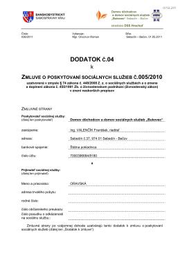 DODATOK Č.04