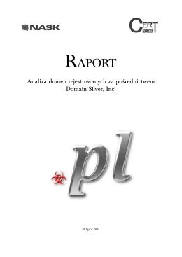RAPORT - CERT Polska