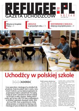 Uchodźcy w polskiej szkole - Refugee.pl Gazeta Uchodźców