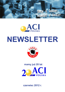 ACI Newsletter Czerwiec 2012